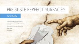 Preisliste Perfect Surfaces April 2021